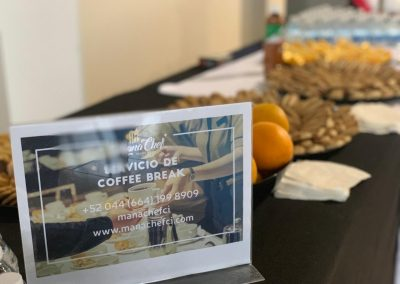Servicio de Coffee Break Manachef CI